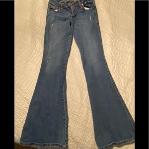 Abercrombie and Fitch flare jeans